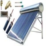 De alta pressão/pressurizou geyser solar o calefator de água quente evacuado do sistema de energia solar do coletor solar das câmaras de ar
