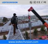 Drapeau imperméable à l'eau extérieur de P16mm annonçant l'Afficheur LED