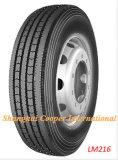 Longue Marche de pneus de camion radial avec tous les types de certificats (275/80R22.5/LM216)