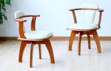 Festes hölzernes Stuhl-Wohnzimmer sitzt Kaffee-Stühlen vor (M-X2058)