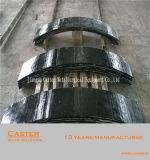 Plaque en acier résistante à l'usure de doublure recouverte par carbure élevé de chrome