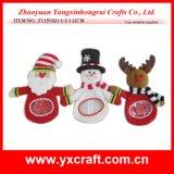 Noël de festival de sac de sucrerie de bonhomme de neige de Noël de la décoration de Noël (ZY14Y50-1-2 27CM)