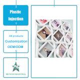 Modelagem por injeção plástica personalizada do frame do retrato decorativo plástico das fotos dos produtos