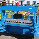 Roulis de feuille de toiture de presse hydraulique de calamine formant la machine