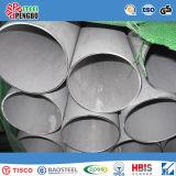 304 extremidade de tubulação sem emenda do aço inoxidável de ASTM AISI com tampão