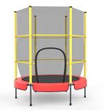 Trampolín de interior del mini amortiguador auxiliar popular de 55 pulgadas con la red de seguridad
