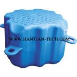Pontón de plástico de HDPE de dique flotante de granja y de pesca