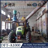 Dft-A1000杭打ち機は、鋭い機械を釘付けにする