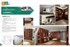 MDF/の合板か削片板の食器棚