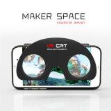 Caso Reality Folding 3D Vr Glasses Phone Case para iPhone 5 6 ABS + PC Vr Estojo para celular