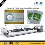 Automático de tres lados sello máscara facial bolsa que hace la máquina