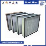 Luft-Kasten-Filter der Aluminiumfolie-Tief-Gefalteter HEPA