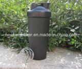 BPA liberano la bottiglia dell'agitatore del miscelatore della proteina 600ml con la sfera del collegare del Mie dell'acciaio inossidabile