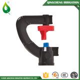 Regadera práctica de riego del aerosol de la irrigación plástica negra