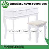 Meuble de salon en bois de pin Table d'ordinateur d'angle (WT-831)