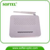 Epon ONU sans fil (4DATA+2VoIP+RF+WiFi) pour FTTH