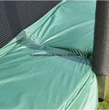 [10فت] خضراء ييقفز سرير ([ترمبولين]) مع أمان إحاطة شبكة لأنّ طفلة يلعب