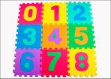 Couvre-tapis respectueux de l'environnement d'EVA de jeu de bébé d'alphabets