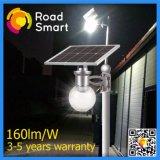 Luzes solares completas elevadas do jardim da rua do diodo emissor de luz do lúmen 4W IP65