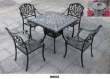 Vector y silla al aire libre de cena de la rota del PE de los muebles del estilo de Grecia