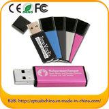 USB Flash Drive de plástico con el logotipo personalizado (ET118)