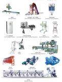 Los diversos componentes del equipo de fertilizante
