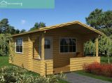 Pequeno Jardim de Lazer Wooden House (HT-F-001)
