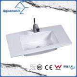 Bacia de banheiro de uma peça e dissipador de bancada (ACB7350)