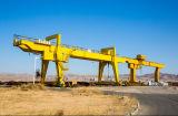 50 톤 판매를 위한 전기 이동할 수 있는 두 배 대들보 훅 미사일구조물 기중기