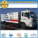 Precio limpio del carro del camino de Dongfeng LHD 4X2 Sweeper180HP
