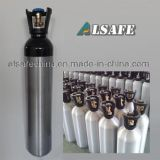 cylindre de gaz de CO2 d'alliage d'aluminium du barillet 6kg