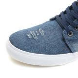 Segeltuch-Mann-Schuh-beiläufige Form-Jeans-Sport-Fußbekleidung 2017