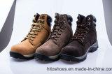 Les meilleures chaussures de sûreté s'élevantes de vente de types de Brown (norme en acier de tep S3)