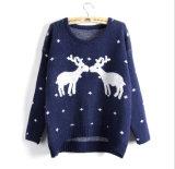 고품질 니트 모직 추악한 크리스마스 스웨터를 주문 설계하십시오