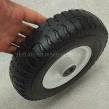 8X2 200X50 200X80 8X2.50-4 단단한 고무 PU 거품 편평한 자유로운 타이어 타이어 바퀴