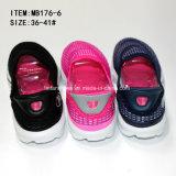 Plus défunte Madame Slip de mode sur la maille folâtre les chaussures occasionnelles (MB176-6)