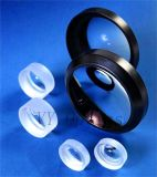 Optisches kugelförmiges Objektiv des Doppelt-Concave/Bi-Concave mit schwarzem Farbanstrich