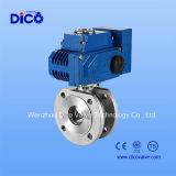 Ss304 3PC 전기 통제 공 벨브 4-20mh
