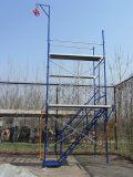 5 '* 5' Échafaudage en acier Cadre à échelle unique pour la construction (FF-668B)