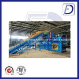 Máquina automática hidráulica de la prensa de la paja