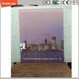 4-19mm de haute qualité sérigraphie Peinture numérique//acide Etch//motif plat dépoli/plié avec plateau de table en verre trempé SGCC/Ce&CCC&ISO