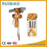 Simple Double crochet de suspension palan électrique à chaîne PA100-1000