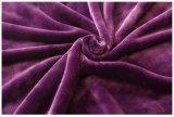 Microminkの羊毛の贅沢なフランネルのプラシ天の柔らかく柔らかい毛布