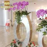 Cremalheira personalizada profissional do potenciômetro de flor do metal do aço inoxidável de Keenhai