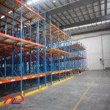 Rodillo de acero galvanizado de acero reforzado de la gravedad de almacenamiento en estantería