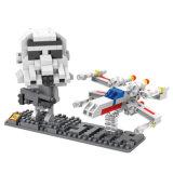 Loz男の子のためのほとんどの普及したDIYのクラフトの教育連結のロボットキットのおもちゃのブロック