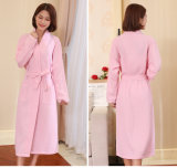 Bathrobes do hotel/os Home da mulher/do Waffle algodão dos pares/pijamas relativos à promoção/Nightwear /Sleepwear