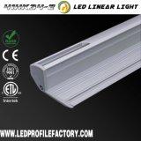 Il LED lega il profilo con un nastro di alluminio Channe per l'illuminazione di striscia del LED