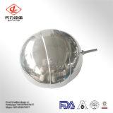 Valvola di galleggiante sanitaria dell'acciaio inossidabile per lo standard di Dn del serbatoio