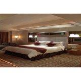 백색 돌풍 룸으로 놓이는 현대 휴일 호텔 침실 가구